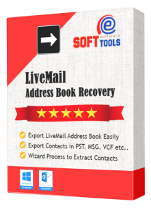 Export Live Mail Contacts to PST